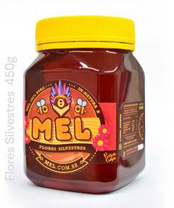 MEL Silvestre: Pote de Mel Puro - Comprar e Vender na LOJA DO MEL