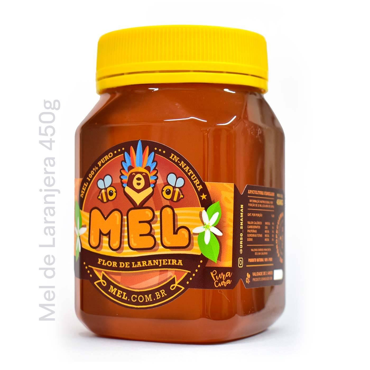 Mel de Laranjeira: Pote de Mel Puro - Comprar e Vender na LOJA DO MEL
