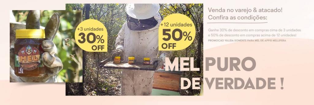 Mel de Jatai, Appis SIlvestre, Laranjeira, Atacado, Varejo, Preços, em São Paulo, SP