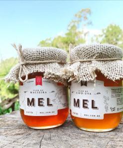 Mel de cipó-uva - florada - mel puro organico
