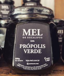 Mel com Própolis Verde - Florada de Eucalipto 220g